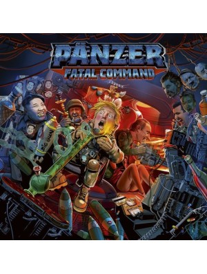PANZER-Fatal Command CD Digi