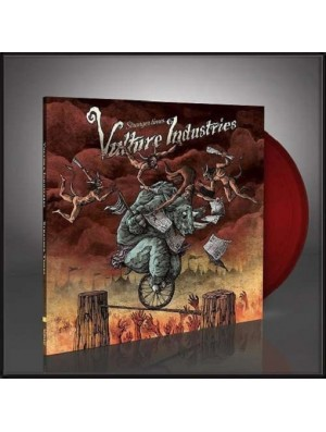 VULTURE INDUSTRIES-Stranger Times LP (Ltd Edition 200 Copies Transparent Blood Red Vinyl)