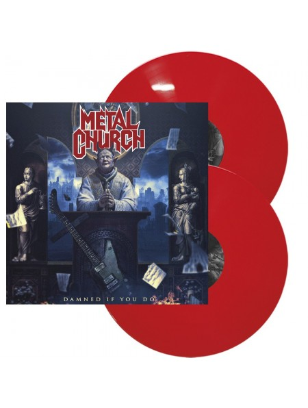 METAL CHURCH - Damned If You Do 2LP (Strictly LTD 500 Copies Red)