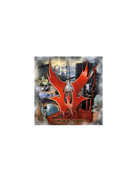 WARLORD-Rising Out Of The Ashes CD Digi(Ltd.Handnumbered Edition)