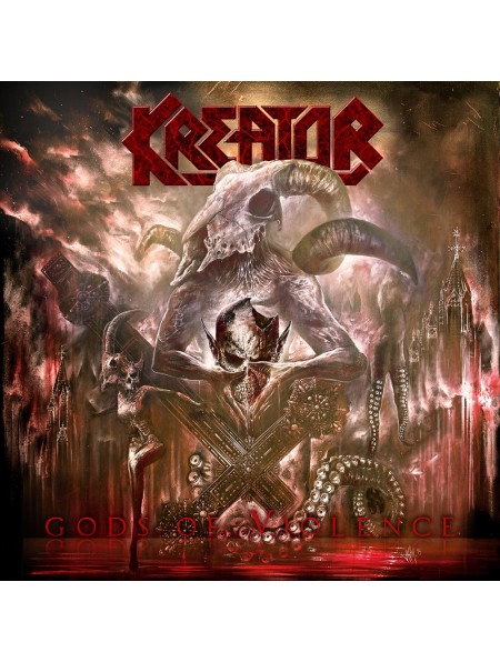 KREATOR-Gods Of Violence CD/DVD (Digibook)