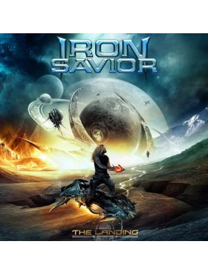 IRON SAVIOR-The Landing LP (Ltd Pale Blue Vinyl 250 Copies)