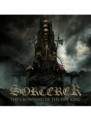SORCERER-The Crowning Of The Fire King 2LP (Ltd 300 Copies Golden Sand Marbled Vinyl)