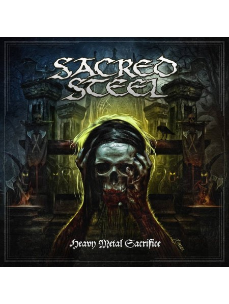 SACRED STEEL-Heavy Metal Sacrifice(Digipack Embossed Logo)