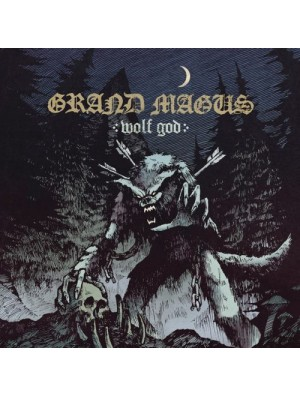 GRAND MAGUS - Wolf God LP (Strictly LTD Black)
