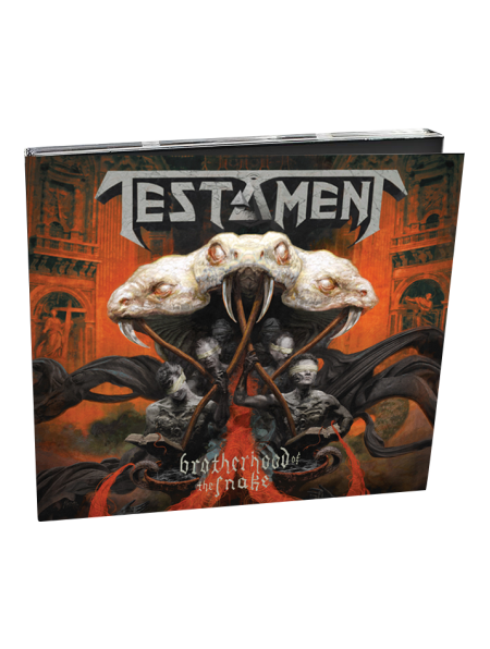 TESTAMENT-Brotherhood Of The Snake CD (Digibook)