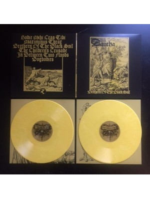 DAUTHA - Brethren Of The Black Soil 2LP (LTD 300 Yellow-White)
