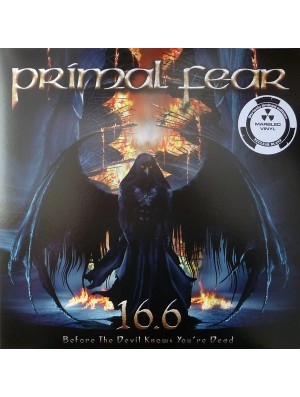 PRIMAL FEAR - 16.6 (Before The Devil Knows You Are Dead)  2LP Ltd Red/Black