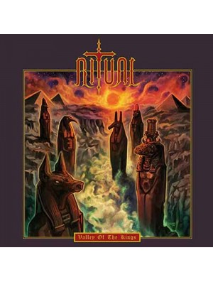 RITUAL - Valley Of The Kings CD Slipcase
