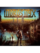 MOROS NYX-Revolution Street LP (Ltd 100 Copies Gold Vinyl)