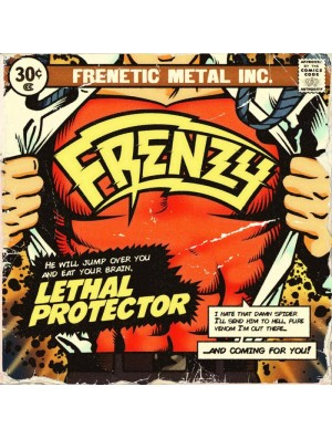 FRENZY-Lethal Protector CD (Ltd 500 Copies)