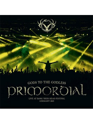 PRIMORDIAL-Gods To The Godless 2LP(Strictly ltd 200 Copies)
