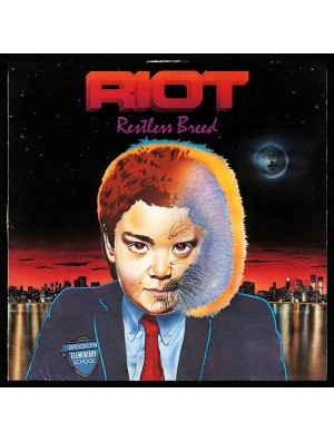 RIOT-Restless Breed 2LP (Ltd VIOLET BLUE MARBLED VINYL 200 COPIES)
