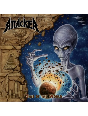 ATTACKER-Sins Of The World CD