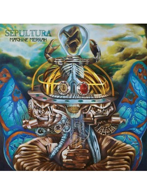 SEPULTURA-Machine Messiah CD